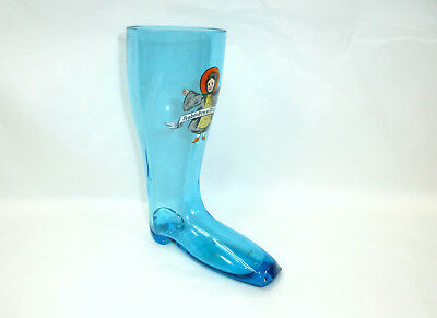 Münchner Kindl RARE LARGE GLASS Um 1900 Mouth-Blown Boots