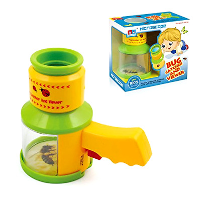 Bug Catcher and Viewer Kidcia Microscopes for Kids Educational Christmas Holiday