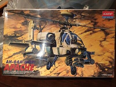 Academy AH-64A(MSIP) Apache 2115 Model Kit 1:48 Scale New in Box