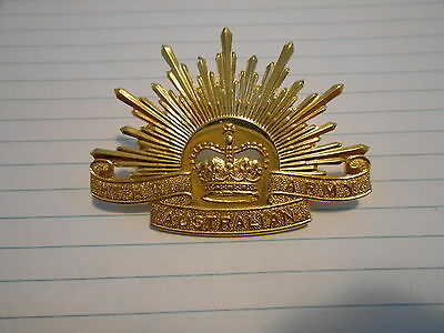 Australian Army Rising Sun Slouch Hat Badge