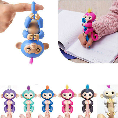 Fingerling Interactive Baby Monkey Toy Zoe Sound Finger Motion Hanger Toy Gift