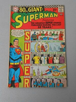 Superman #193 (4.0 VG) DC Comics 80pg Giant