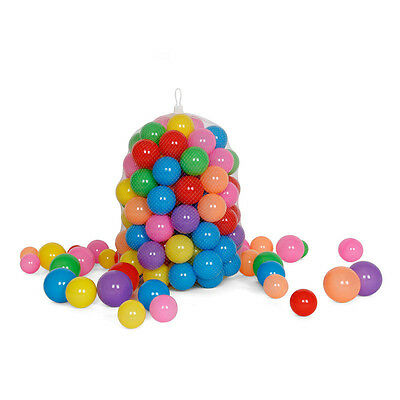 100 Pack Multi-Color Soft Play Balls Kids Baby Toy for Ball Pit Swimming Pool