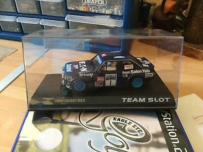 Team Slot 1/32 Ford Escort Mk 2 mint boxed. Pre owned.