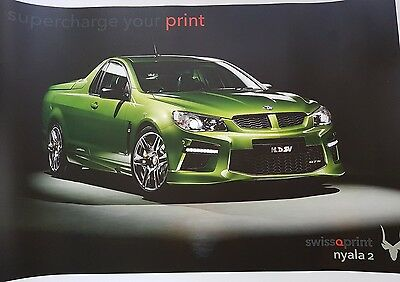 Holden Special Vehicles HSV Maloo GTS Large Format Poly Vinyl Poster