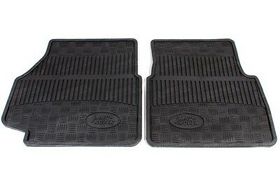 GENUINE LAND ROVER DEFENDER 90&110 TD5 FRONT RUBBER MATS  1999 to 2006 STC50172