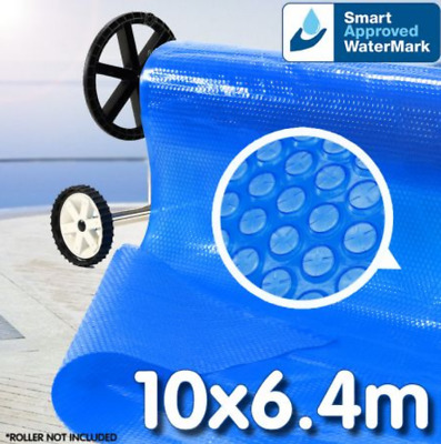 Solar Swimming Pool Cover Outdoor Bubble Blanket 400 Micron 10M X 6M RETURNs
