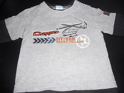 Baby boys Hundreds & Thousands Chopper  long sleeve tee  Size 00
