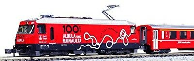 KATO 3101 N Gauge Alpine Locomotive Ge4/4 III Albula Line 100th Anniv. Wrapping