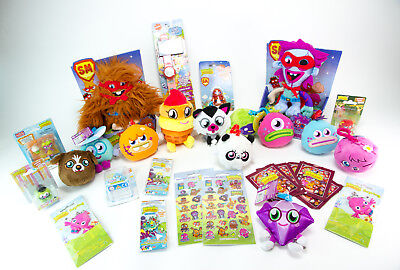 Job Lot BUNDLE NEW Moshi Monster Toy Figures Party Bags Favours Stocking Fillers