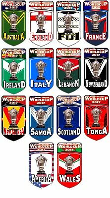 Rugby League World Cup 2017 Fridge Magnets