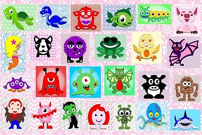 Brother ScanNCut Cute Creature layered topper templates CD1090