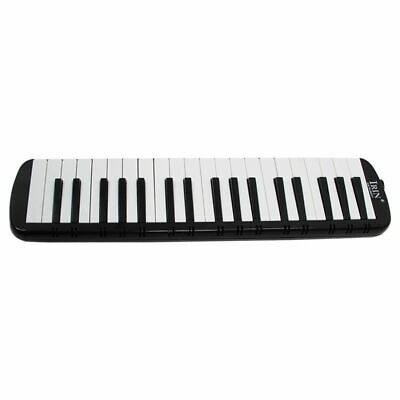IRIN Black 37 Piano Keys Melodica Pianica w/Carrying Bag For Students New W J2L7
