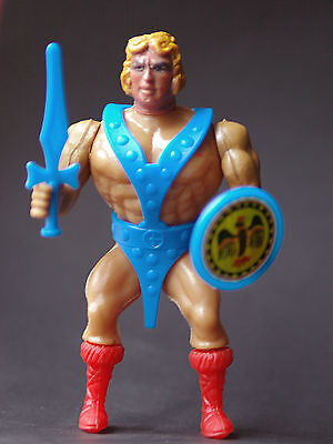Guerreros del Espacio alien action figure Farmen Spain 80's similar to MOTU f