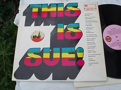 THIS IS SUE! Island IWP-2. LP.1969.Roy Head/Shirley & Lee/Robert Parker/Anglos