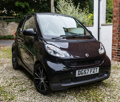 2008 Smart Fortwo Pure Coupe Black - 41000 Miles