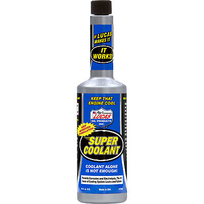 Lucas Oil 10640A Super Coolant 473Ml Lowers Cylinder Head Temperatures Cooling