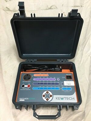 Kewtech FC3000 Calibration Check Box, Electricians/Engineers test Equipment.