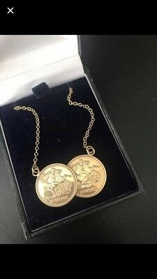 Gold Sovereign Necklace
