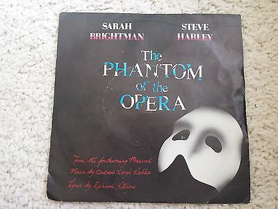 "Sarah Brightman(7"" Vinyl P/S)The Phantom Of Opera-Polydor-POSP 800- (DISC N/M)"