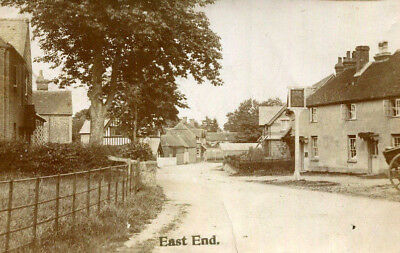 1907 postcard The Sun Inn East End NEWBURY Berkshire
