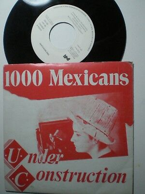 1000 MEXICANS Under Construction
