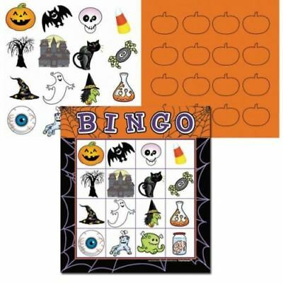 👻HALLOWEEN BATTY BINGO GAME👻16 Player Party Fun Home Kids Family Fun👻Activity