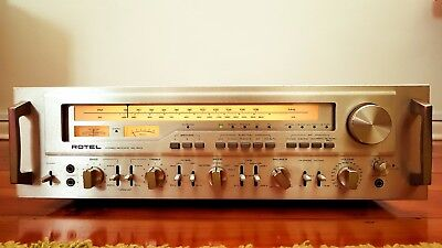 Rotel RX1603 (Monster stereo receiver / 180 WPC)