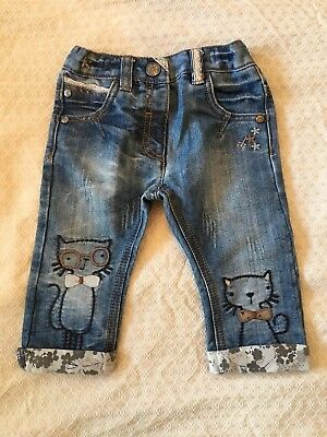 Next Girls 6-9 Month Jeans - Unworn