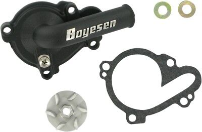 Boyesen Water Pump Cover & Impeller Kit Black WPK-37B