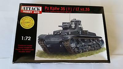 Attack 72SE01 PzKpfw 35 (t) LT Vz. 35 German Tank Panzer Special Resin Edition