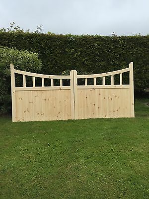 Bespoke Solid Wood Gate Set/Pedestrian/Garden/Field.Timber One Offs.
