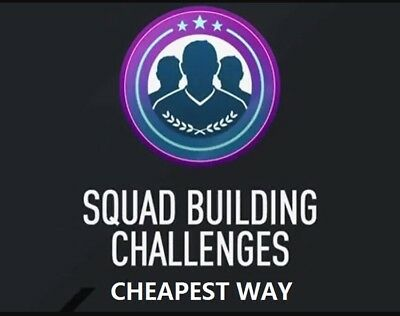 Squad Building Challenge (SBC) Cheapest Methods *Save Fifa 18 Coins* PS4 ONLY