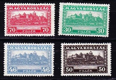Hungary Budapest Palace  (418-21) Mnh. Michel 40 Euros For Nh.