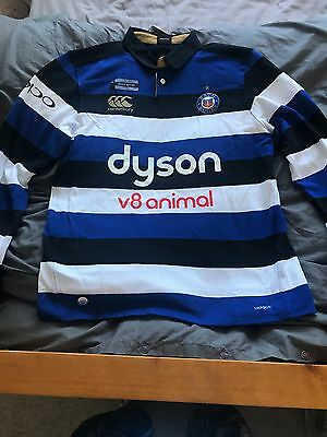 bath rugby top 2017/18  Long Sleeve Home NEW WITH TAGS!!