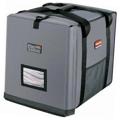 rubbermaid commercial insulated full-size  pan carrier, gray, fg9f1300cgray