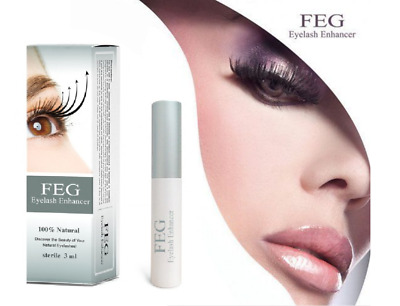 3ml FEG Rapid Growth EyeLash Enhancer Eye Lash Serum Liquied ORIGINAL Natural
