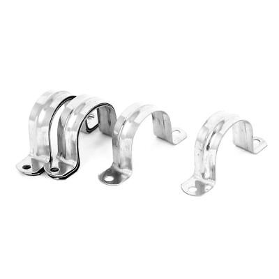 Rigid Conduit 2-Hole Pipe Straps Clips Clamps 8pcs for 40mm Dia Tube F4D9 Q5U5