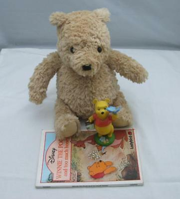 Pooh Teddy bear and associated items offical Disney lot