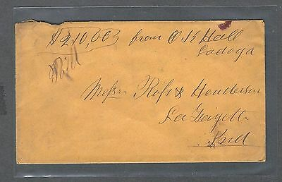 mjstampshobby 1800's US Cover VF Cond  (Lot 1440)