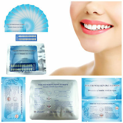 28 Professional Teeth Whitening Strips Rapid Home Tooth Bleaching White Strips!