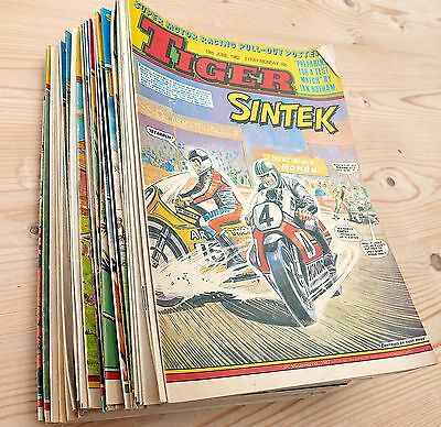 TIGER AND SCORCHER comics  1982  35 issues