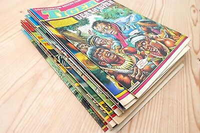 TIGER AND SCORCHER  comics 1983 12 issues