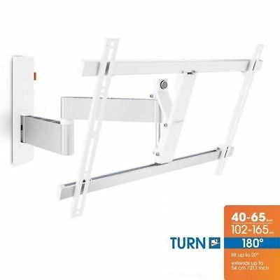 VOGEL'S WALL 2345 Blanc Support mural TV Orientable et Inclinable - TV de 40 a 6