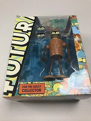 Futurama Wooden Bender Figurine in Original Box
