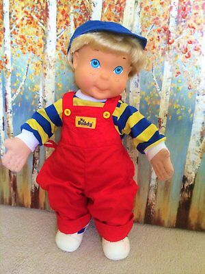 Vintage My Buddy Real Pal Doll by Hasbro Playskool - Complete Outfit!
