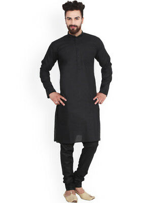 Indian Traditional Bollywood Pathani Kurta Pyjama Mens Ethnic Wear Kurta ES03