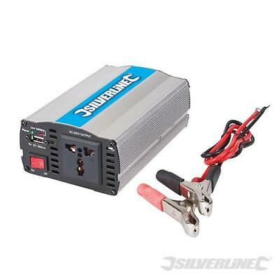 Silverline 12V Inverter 2000W (2 x 1000W) FAST DELIVERY