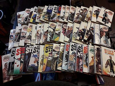49 Adam Steele books, Westerns, by George G. Gilman, great condition