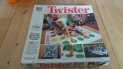 vintage 1970s Twister board game by MB Games